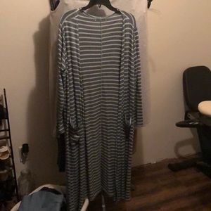 LuLaRoe Long Knit Cardigan - Large